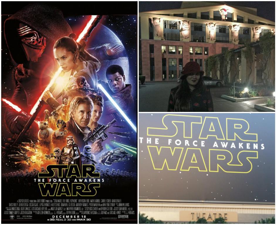 Disney screening theater for Star Wars