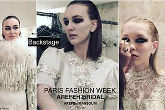 Arefeh Bridal Couture Runway Show during Paris Fashion week