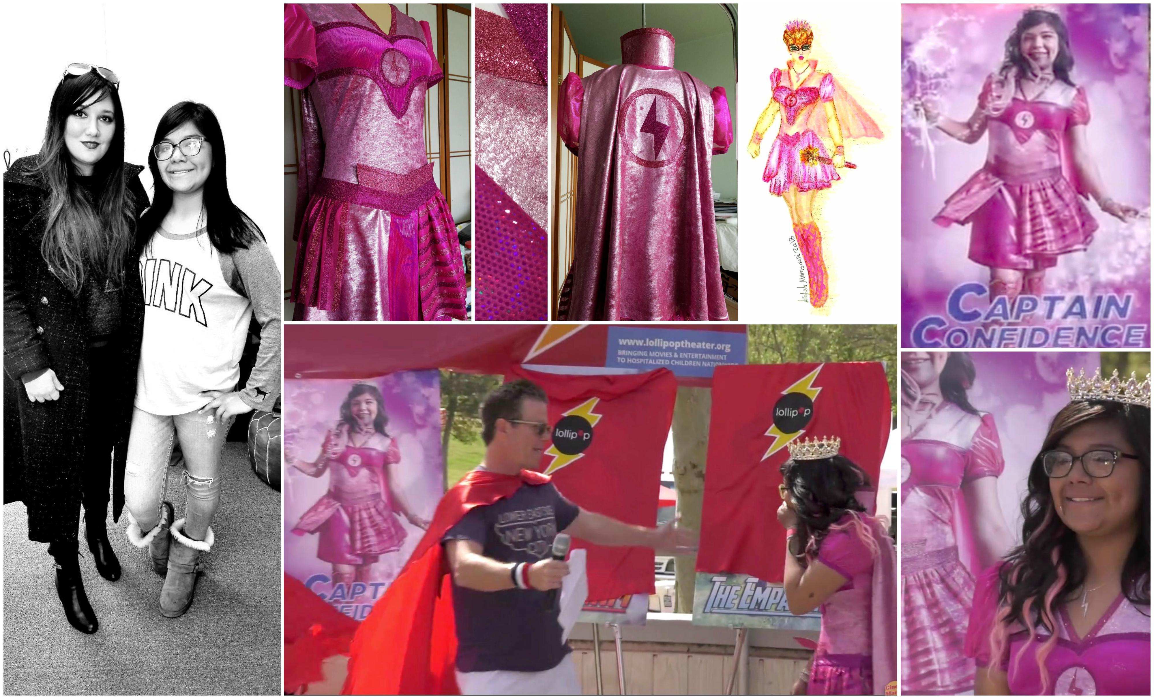 Costume designer Arefeh Mansouri